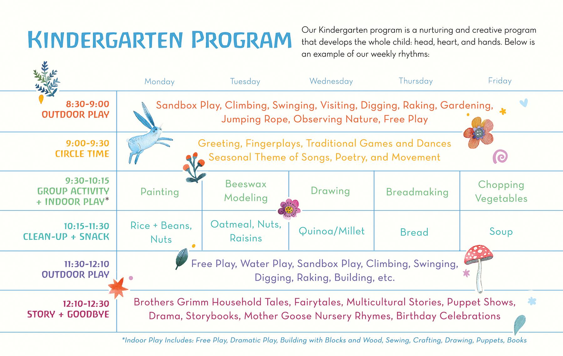 Kindergarten Rhythm