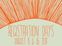 Registration Days