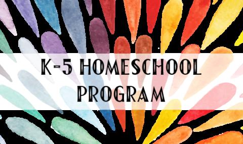 K-5 Homeschool Program